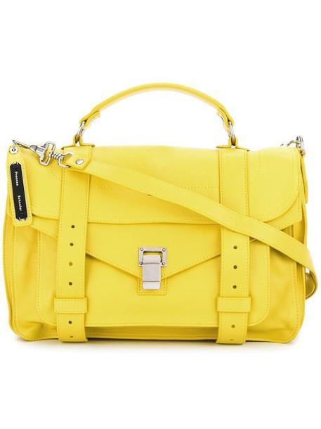 Proenza Schouler satchel women yellow orange bag