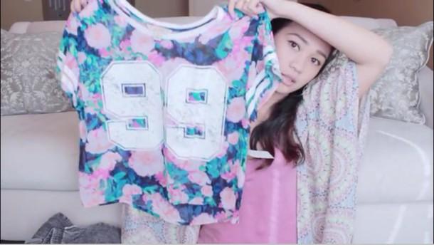 shirt clothes crop tops