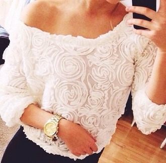 sweater girl girly blouse luxury