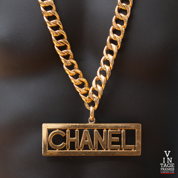 Vintage Chanel CH204 Chain - Vintage Frames Company