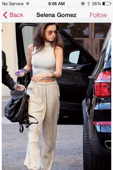 selena gomez pants shirt