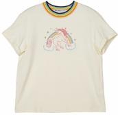shirt,rainbow,t-shirt,white,unicorn,print,printed t-shirt