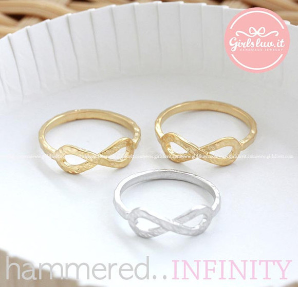 jewels jewelry infinity infinity ring ring infinite engagement ring lovely everyday ring anniversary wedding
