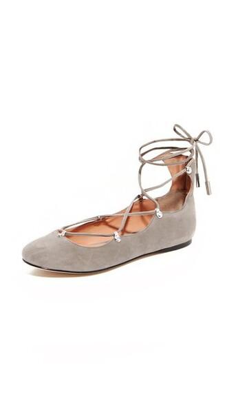 ballet flats ballet flats grey shoes