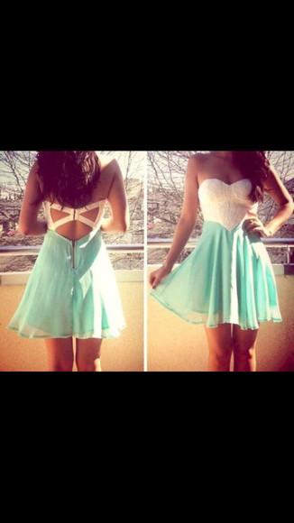white dress cute dress green dress blue dress