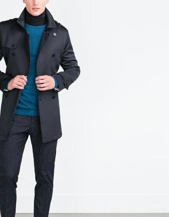 coat mens coat mens trench coat zara