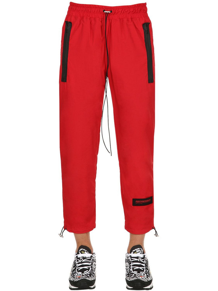 REPRESENT Shell Pants in red
