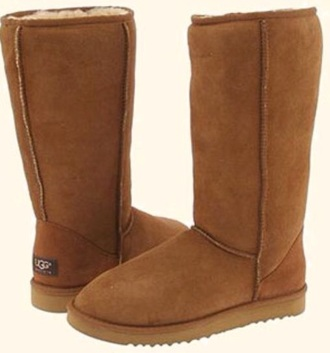 shoes ugg boots brown tumblr