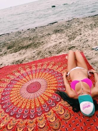 home accessory mandala boho chic home decor tapestry style fashion beach bikini