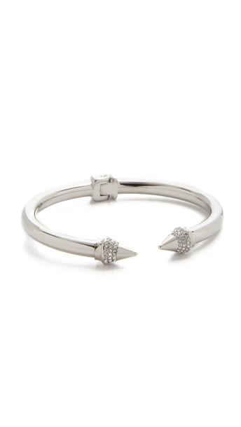Vita Fede Mini Titan Crystal Bracelet - Silver/Clear