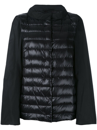 jacket down jacket women cotton black