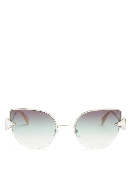 Rainbow cat-eye sunglasses | Fendi | MATCHESFASHION.COM US
