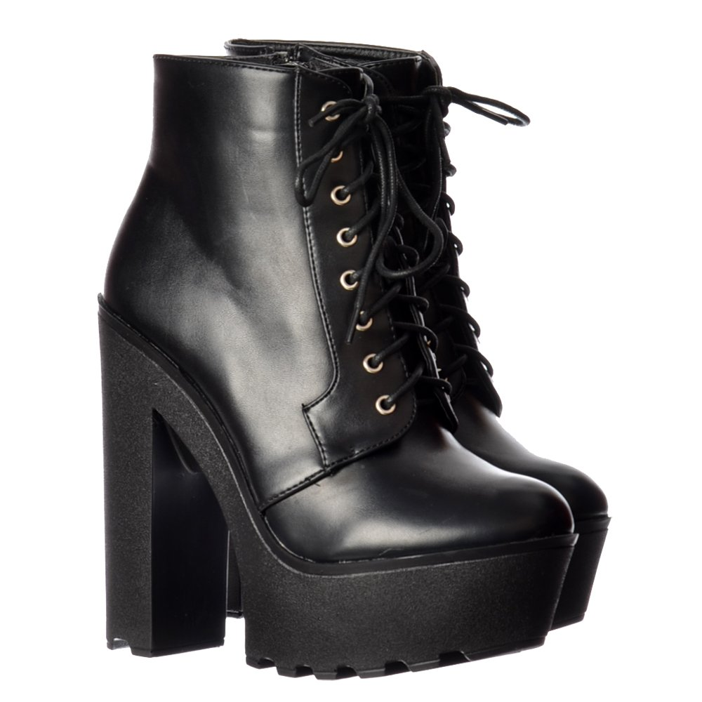 Find platform ankle boots chunky heel at ShopStyle. Shop the latest collection of platform ankle boots chunky heel from the most popular stores - all.