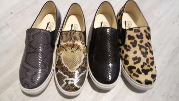 shoes vans animal print