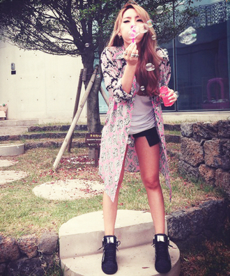 shoes 2ne1 cl sneakers cardigan