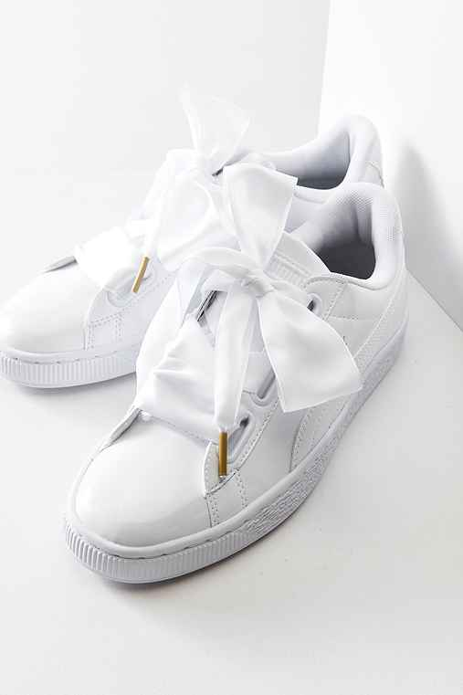 Puma Outfitters Heart Urban Basket Sneaker Patent Leather vwm8n0N