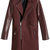 ROMWE | Zippered Red Panel Woolen Coat, The Latest Street Fashion