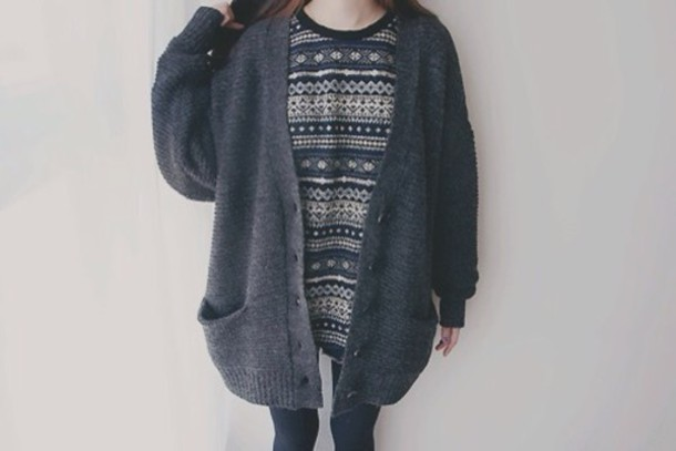 cardigan grey cardigan cozy