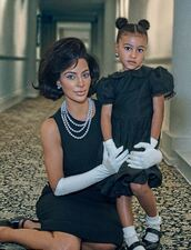 dress,kim kardashian,kardashians,north west,editorial,black dress