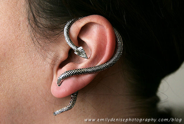 Snake ear cuff/earring · ha