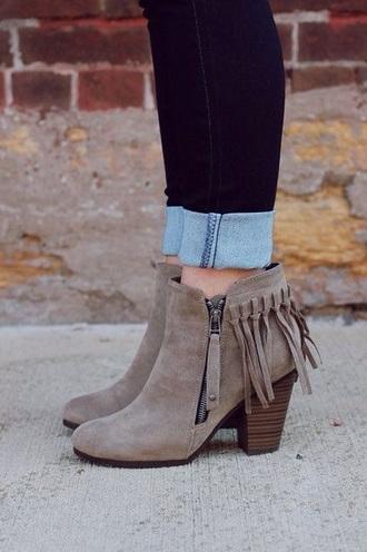 shoes ankle boots boho bohemian boho vibes brown cute style boho shoes bohemian shoes streetstyle streetwear boho chic brown leather boots