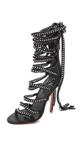 Monika Chiang Imena Lace Up Sandals | SHOPBOP