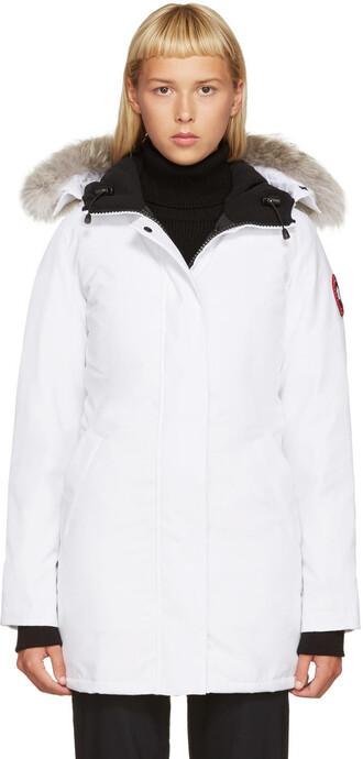 parka white coat