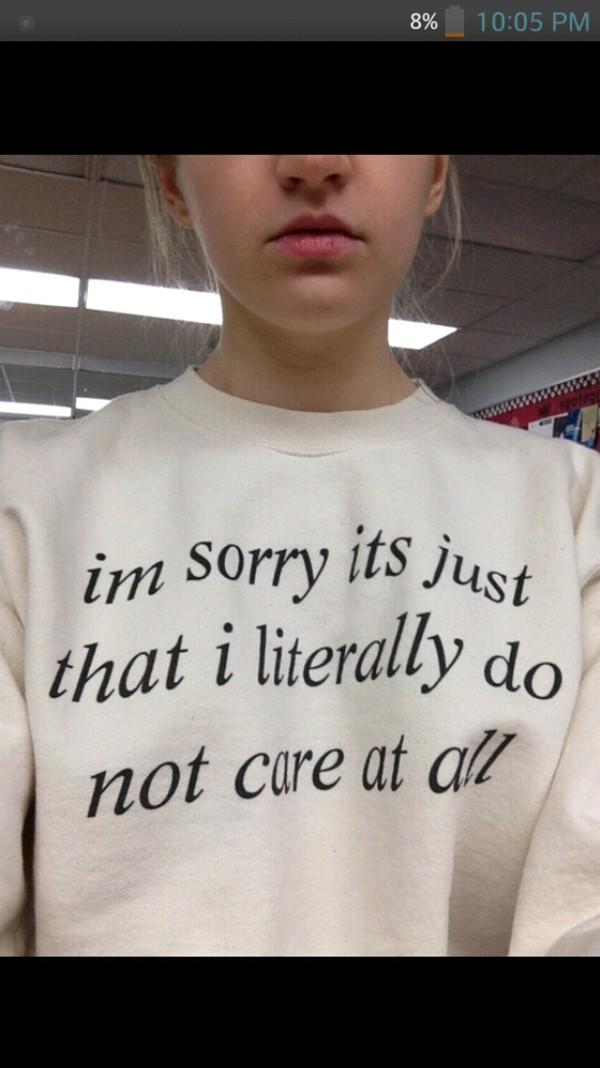 sweater sassy crewneck sweater tumblr tumblr sweater