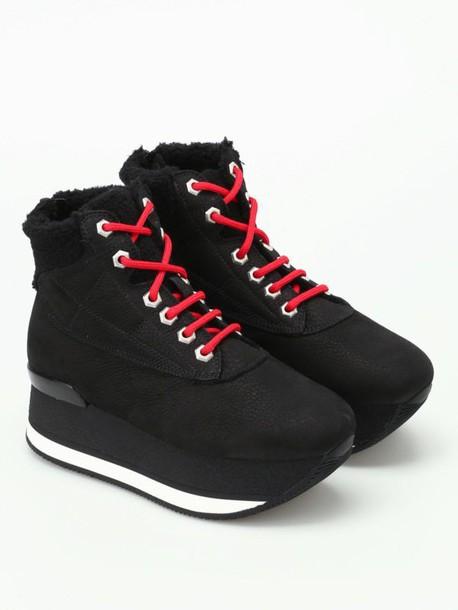 Hogan booties black shoes