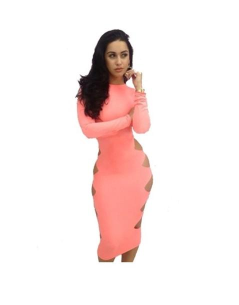dress short peach dresses