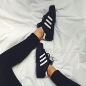 shoes,adidas,black and white,black,white