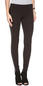 faux leather leggings | SHOPBOP