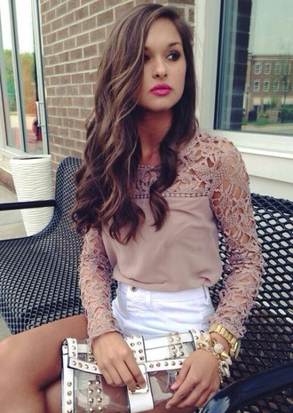 style girly blouse lace dress celebrities designer