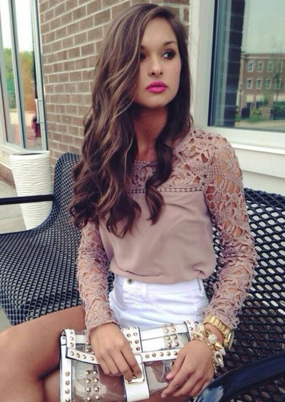 designer blouse celebrities lace dress style girly