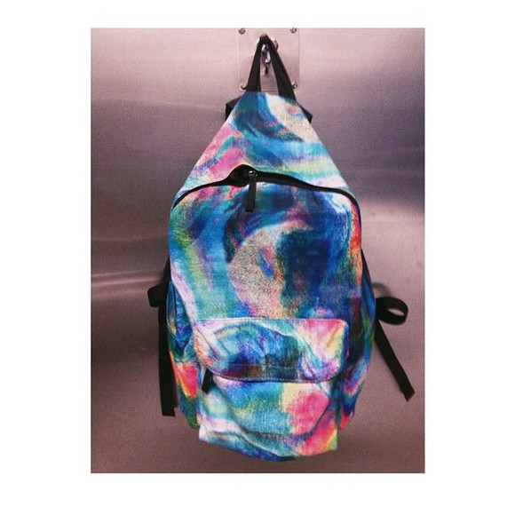 bag tie dye hipster backpack amazing tie dye bagpack