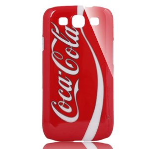 Amazon.com: Classic Coca Cola Pattern Hard Case Cover for Sumsung Galaxy S3 i9300: Cell Phones & Accessories