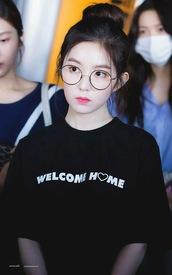sunglasses,idol,K-pop,irene,k fashion,redvelvet,glasses,round sunglasses,kpop idol,korean fashion