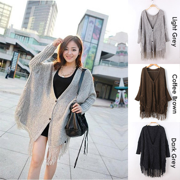 Tassel Batwing Shrug | Outfit Made