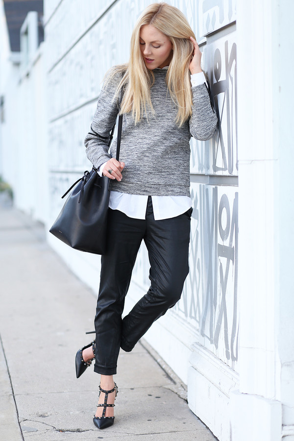cheyenne meets chanel sweater shirt pants shoes