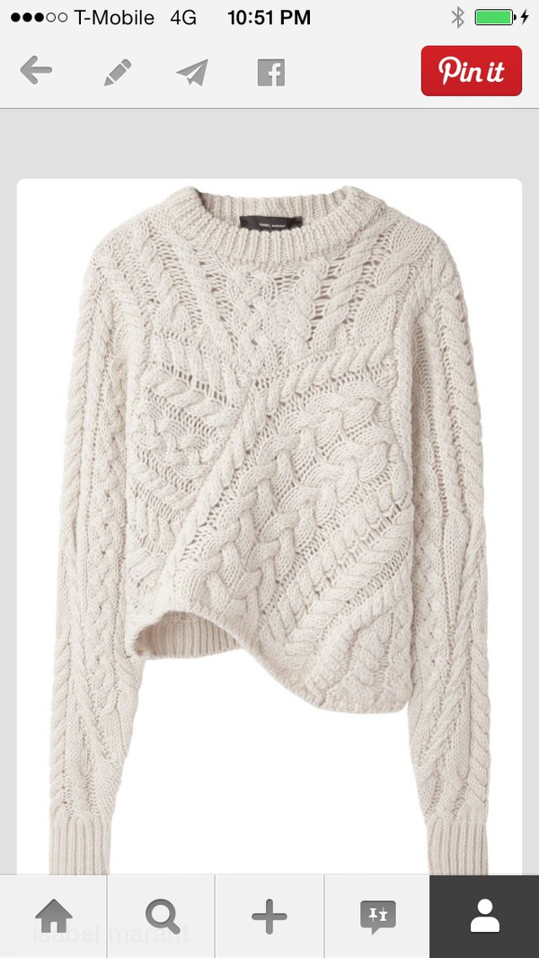 sweater white cable cable knir cable knit