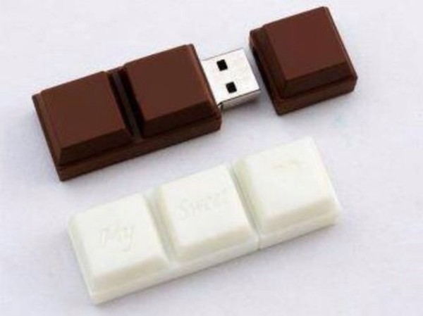 easter home accessory chocolate usb bag chocolate usb flash drive computer accessory