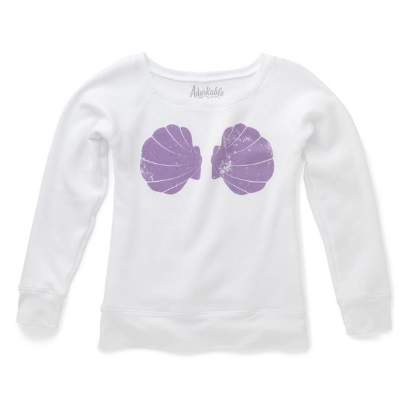 Urban mermaid boatneck sweatshirt – adorkable apparel