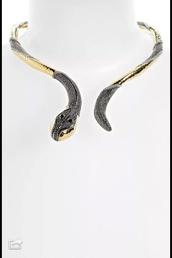jewels,hard necklace snake