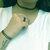 90 s tatouage collier Set de trois tatouage Collier Tour, tatouage Bracelet, tatouage bague, colliers tour de cou, 90 s vibe, hipster, corde élastique