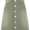 Verdi gris cotton drill odelle skirt