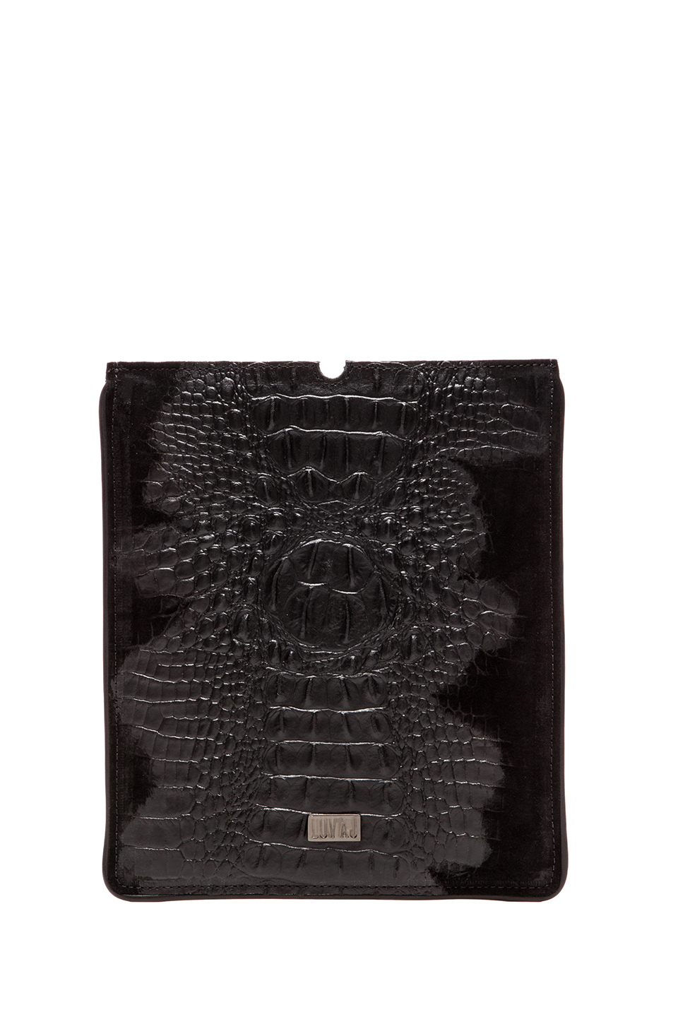 Luv AJ iPad Case in Hornback Suede | REVOLVE