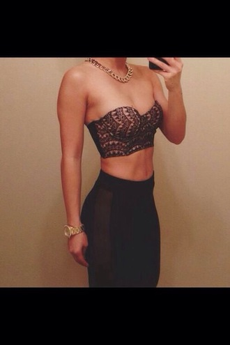 pink top leggings crop tops chain leather fitness bralette party outfits highwaisted pants