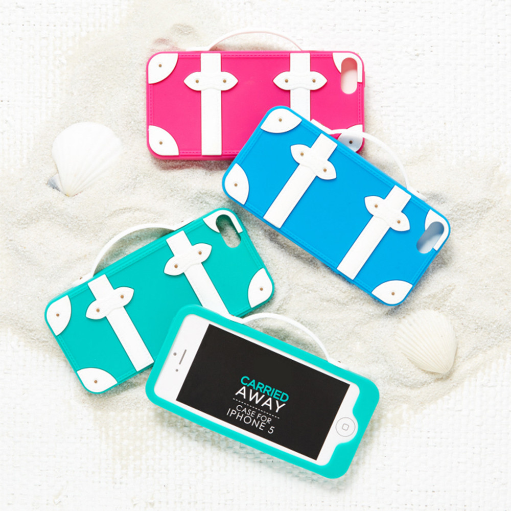 Carried Away Suitcase iPhone 5 Cover
