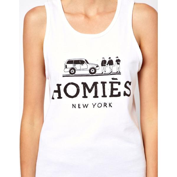 Reason Homies Tank - Polyvore