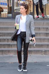 jacket,blazer,pants,ashley tisdale,celebrity,top,sneakers
